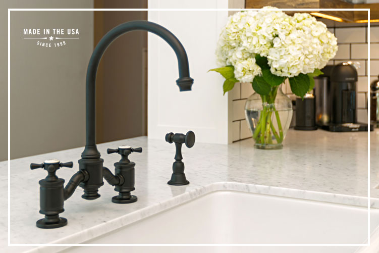 Bridge Faucets | Waterstone Luxury Kitchen Faucets