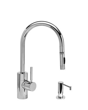 Waterstone Contemporary Pulldown Faucet - 2pc Suite