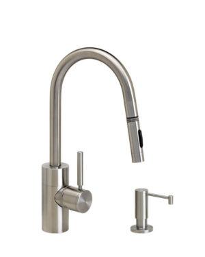 Waterstone Contemporary Prep Size Faucet - 2pc Suite