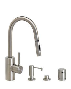Waterstone Contemporary Prep Size Faucet - 4pc Suite